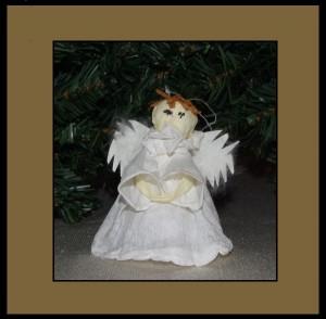 Aniołek z bibuły
