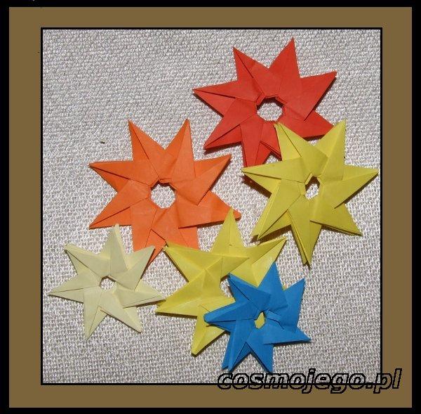 Gwiazdki z ośmiu elementów