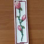 Zakładka do książki - piękny kwiat magnolii