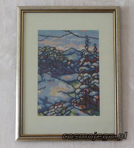 Zima - krajobraz górski zimą