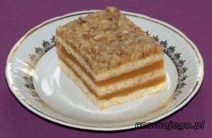Ciasto jabłkowo - orzechowe