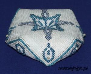 Igielnik - biscornu, poduszeczkę na igły