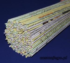 Rurki z wikliny papierowej