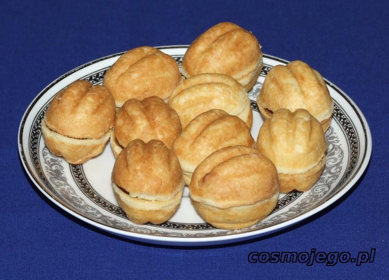 Delicje orzechowe - ciasteczka świąteczne