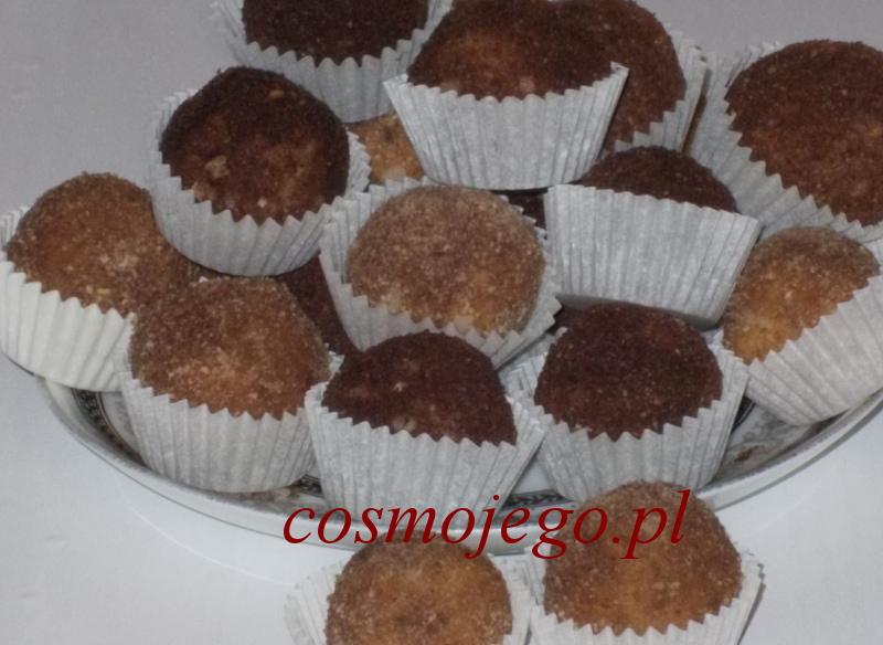 Trufle kakaowe z herbatników