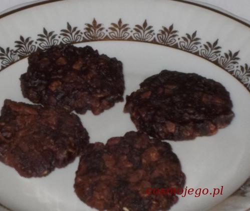 Ciasteczka owsiane bez pieczenia